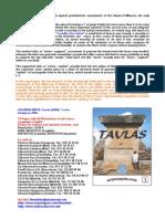 Taulas of Minorca
