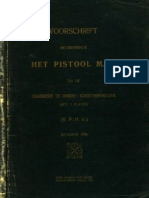 The Dutch Luger Instruction Manual (1928)