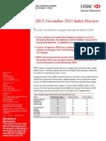 MSCI Equity Quantitative Analysis From Hsbc (November 2013)