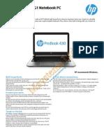 Hp Probook 133 16613