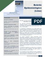 BOLETIN EPIDEMIOLOGICO 35