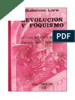 Revolución y foquismo - Lora.pdf