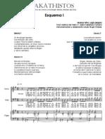 Equema I - Reducción para Pno e Coro