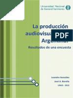 UNGS-La producción audiovisual en Argentina