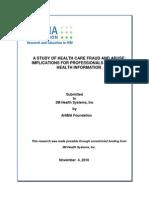 Fraud and Abuse - Final 11-4-10