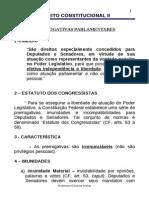 -Poder Legislativo - Imunidade Parlamentar