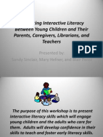 Promoting Interactive Literacy