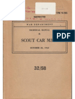 TM 9-705 SCOUT CAR M3A1, 26.10.1942