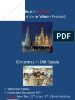russian christmastide