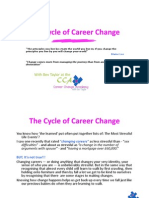 Cycle of Career Change