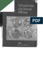 Introduccion a La Ciencia Politica Julio a Pinto
