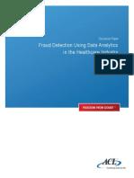 DP Fraud Detection HEALTHCARE