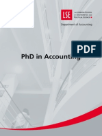PhD Accounting Brochure Feb09