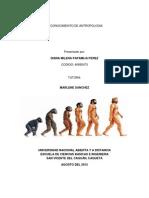 Reconocimiento de Antropologia