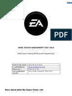 Mihai Ujica- EmailTest Game Tester PC Console