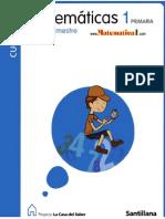 Libro de Matemáticas de 1º grado SANTILLANA_ Nivel Primaria.pdf