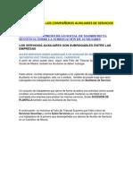 DE INTERES PARA LOS COMPAÑEROS AUXILIARES DE SERVICIOS