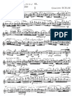 divertimento nº3 violin(Scelsi)