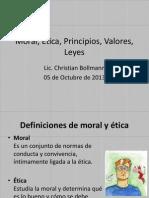Moral, Ética, Principios, Valores,2