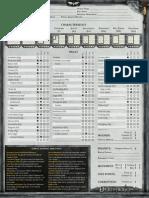 Deathwatch-Character Sheet - Writable PDF