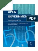 Open Government Gobierno Abierto