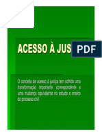 ACESSO À JUSTIÇA - 29.08.13 - noturno