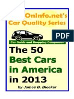 The 50 Best Cars in America in 2013