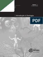 Introdução à Zoologia - volume 1