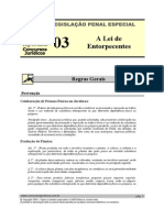 LPE 03 - A Lei de Entorpecentes