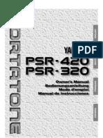 Yamaha PSR-420 deutsches Handbuch