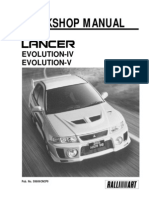 LANCER Workshop Manual