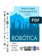 Bogota Robotica 17 20 Oct 2013