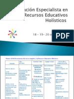 Formación Especialista en Recursos Educativos Holísticos