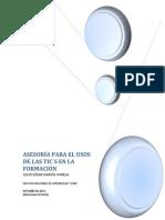 ACTIVIDAD 1 - ASESORÍA PARA EL USOS DE LAS TIC