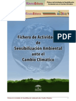 Actividades de sensibilizacion ambiental sobre cambio climatico.pdf