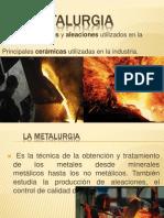 Metalurgia y Ceramica