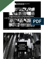 Engenharia para a Sustentabilidade e os Desafios do Protocolo de Quioto nos Açores – Sérgio Costa (Simbiente)