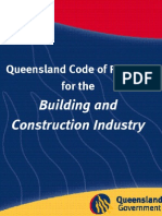 Code of Construction practice Queensland