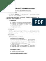 INFORME MECANICO URTEAGA