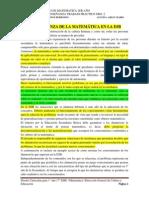 TP 2 - LA ENSEÑANZA DE LA MATEMÁTICA EN LA ESB