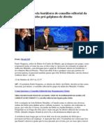 Jornalista revela bastidores do conselho editorial da Globo