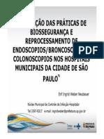 Avaliacao Praticas Biosseguranca Reprocessamento Equipamentos Endoscopiabroncoscopiacolonoscopia Hospitais Municipais Cidade Sao Paulo 1337283522