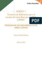 Anexo 1 Linea de Base PDA Lomas