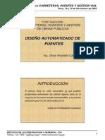Diseño Automatizado de Puentes con SAP 2000 (Ing. Cesar ALVA