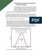 Determinación Estadística de Límites de Desgaste de Precaución y Críticos