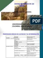 Propiedades Mecanicas de Las Rocas