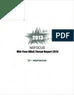 2013 NSFOCUS Mid-Year DDoS Threat Report