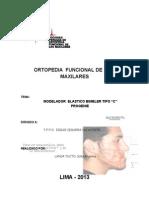 Ortopedia Funcional de Los Maxilares