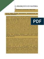 EL RECURSO JERÁRQUICO EN MATERIA TRIBUTARIA