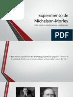 Experimento de Michelson-Morley